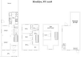 296 Sherman Street, Brooklyn, Kings, New York, United States 11218, ,House,For sale,Sherman Street,1120